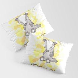 Hufflepuff - H a r r y P o t t e r inspired Pillow Sham