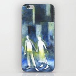 Lost souls at moonlight iPhone Skin