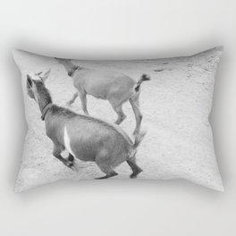 Pet Goats Rectangular Pillow