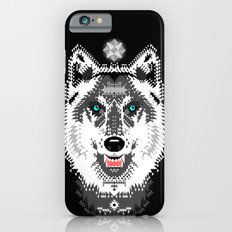 Silver Wolf Geometric iPhone 6s Slim Case
