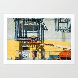 Builders of Key West, Florida Art Print