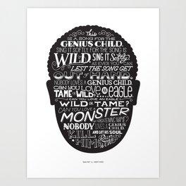 Genius Child Art Print