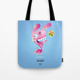 Electric Bunny-Wabbit Tote Bag