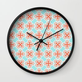 Summer Cross Wall Clock