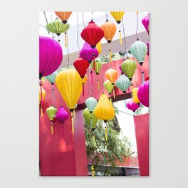 Saigon in Color Canvas Print