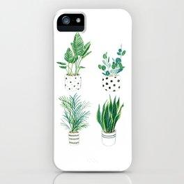 Indoor Plants iPhone Case