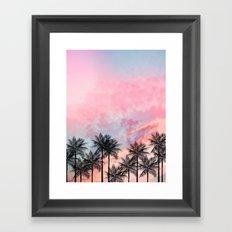Summer Palm Tree #Society6 #Buyart #Decor Framed Art Print