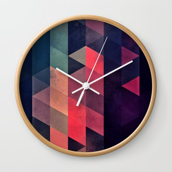 edyfy wyth lyys Wall Clock