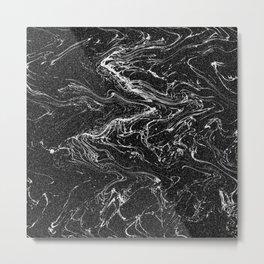 Free Flowing Metal Print