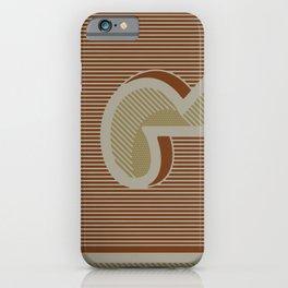 BOLD 'G' DROPCAP iPhone Case