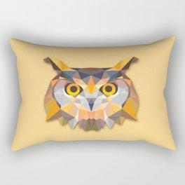 Triangle owl Rectangular Pillow