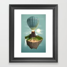 The Great Tropical Escape Framed Art Print