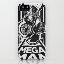 Megaman. In the year 20xx iPhone Case