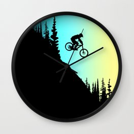 MTB Colors Wall Clock