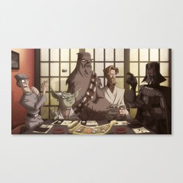Sushi Wars Canvas Print