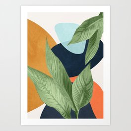 Nature Geometry VIII Art Print