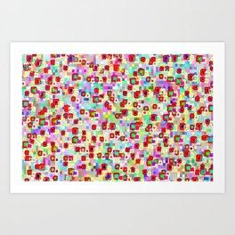 Rhythmic cloud 32 Art Print
