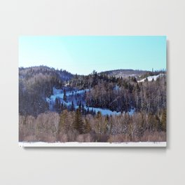 Switchback Trail Metal Print