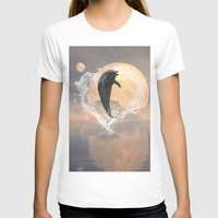 dolphin T-shirts featuring Dolphin by nicky2342