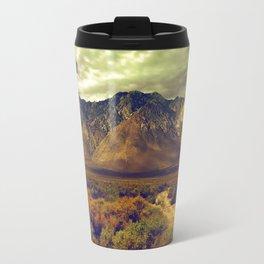 California Postcards Lone Pine Travel Mug