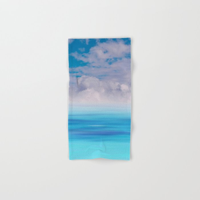 The Sea is Calm Hand & Bath Towel