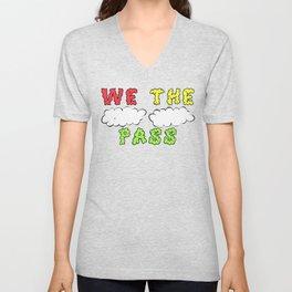 We the Puff Puff Pass Unisex V-Neck