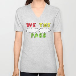 We the Puff Puff Pass Unisex V-Neck