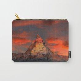 Mountain Matterhorn Switzerland Carry-All Pouch