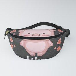 Pig Lover Gift Idea Fanny Pack