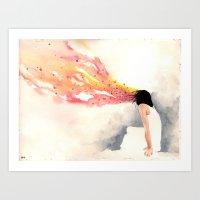 dreamer Art Prints featuring dreamer by artbroken