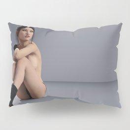 Topless Dancer - Pin Up - Balarina - ZG 3D Pillow Sham