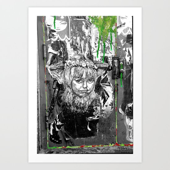 Lock n Key Art Print