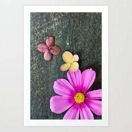Flowers of Summer Art Print