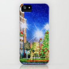 Home Town Christmas Slim Case iPhone (5, 5s)