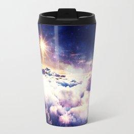 Heavenly Galaxy Clouds Travel Mug