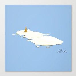 Frosty the Semen Man Canvas Print
