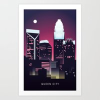 Charlotte - Queen City Art Print