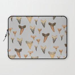 Shark Teeth Study - Grey Laptop Sleeve