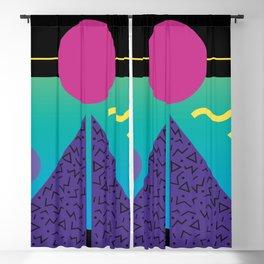 Memphis Pattern 37 / 80s - 90s Retro Blackout Curtain