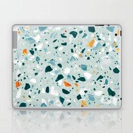 Mint Terrazzo #pattern #abstract Laptop & iPad Skin