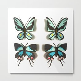 Flutterbies Metal Print