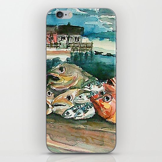Memories frome the coast of Norway iPhone & iPod Skin