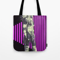 indian Tote Bags featuring Indian by Robert Cooper