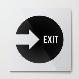Exit #10 Metal Print