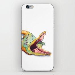 Alligator Snap iPhone Skin