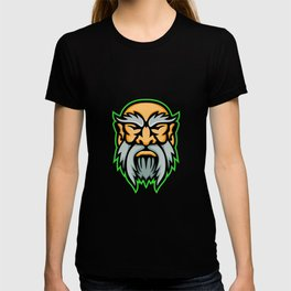 Cronus Greek God Mascot T-shirt