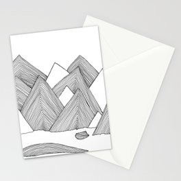 Mountains IIII Stationery Cards