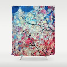 Positive Energy 2 Shower Curtain