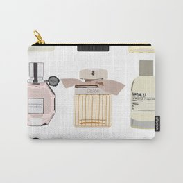 Perfume Shelf Carry-All Pouch