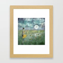 Serenity Lake Framed Art Print